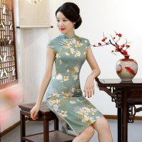 2020潍坊新款女装---旗袍
